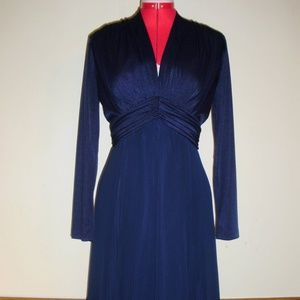 Blue Vintage Miss Elliette Dress